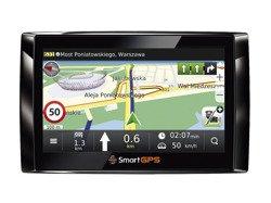 Nawigacja samochodowa SmartGPS SG730 MM TOP PL