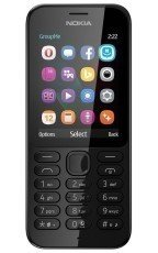 Nokia 222 Dual Sim Czarna