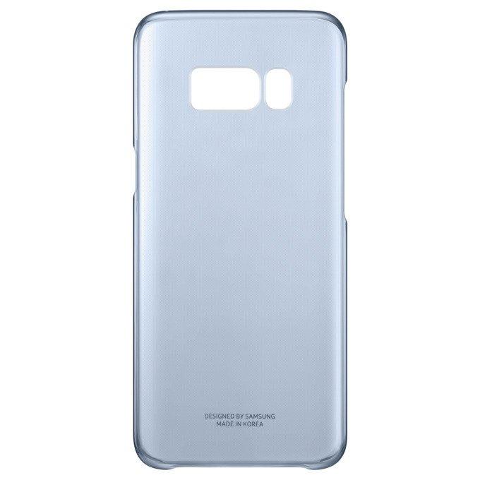 Etui Clear Cover do Galaxy S8 Niebieskie (EF-QG950CLEGWW)