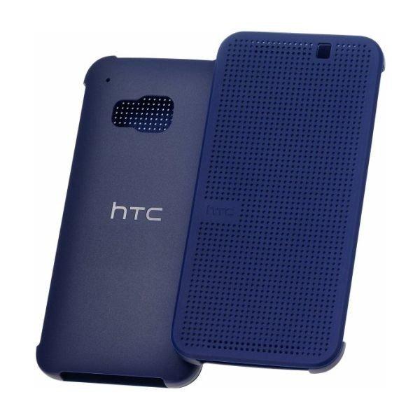 Etui Dot View HTC HC M231 Niebieskie do HTC ONE M9