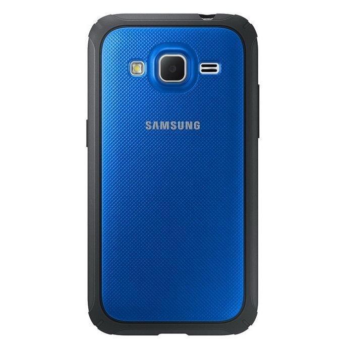 Etui Samsung Protective Cover  Niebieskie do Galaxy Core Prime EF-PG360BLEGWW